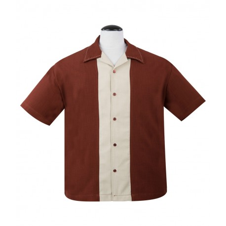 CHEMISE STEADY / BIG DADDY Rust