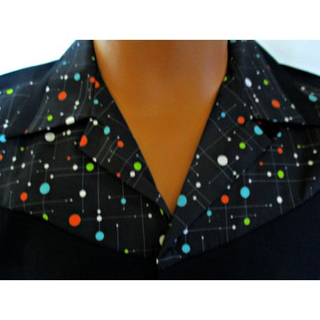 CHEMISE AL FIFTIES Atomic Universe Design