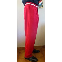TARANTULA Holywood High Waisted Trousers Red