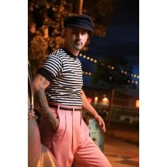TARANTULA Holywood High Waisted Trousers Pink