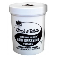 GOMINA BLACK & WHITE Hair Dressing - Large 200 grs