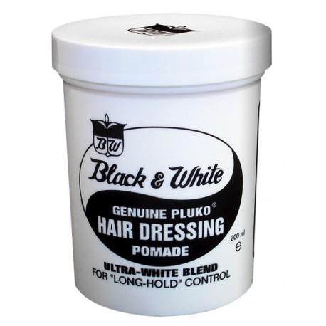 GOMINA BLACK & WHITE Hair Dressing - Large 200 grs