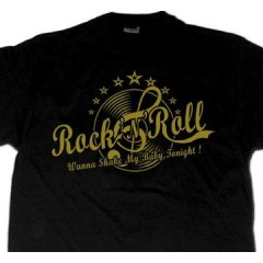 "TEE-SHIRT ""Rockabilly Wanna Shake"""