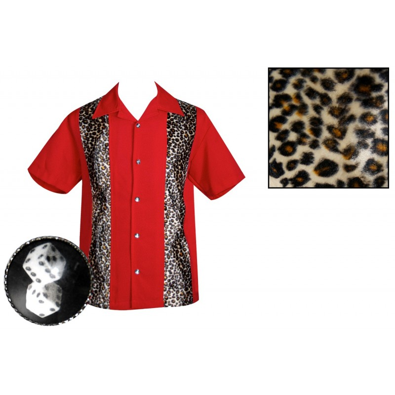 rockabilly chemise shirt steady clothing. Black Bedroom Furniture Sets. Home Design Ideas