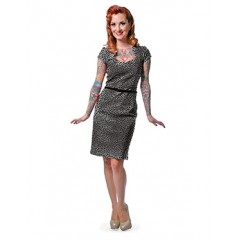 "ROBE ""SOPHIA"" LEOPARD ROCK STEADY de STEADY CLOTHING"