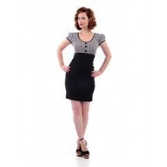 "JUPE ""FACADE SKIRT"" ROCK STEADY de STEADY CLOTHING"