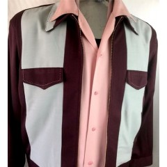 SWANKYS JOHNNY D Ricky  Jacket Burgundy