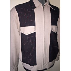 SWANKYS JOHNNY D Ricky Jacket Atomic Fleck