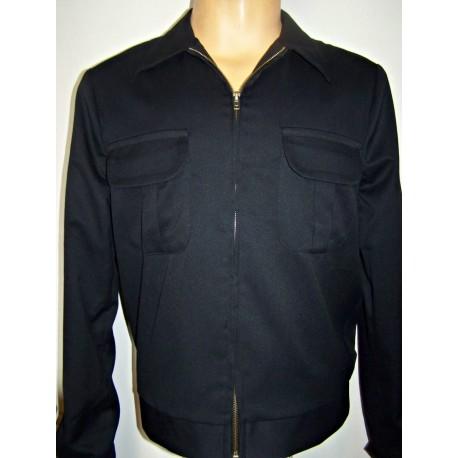TARANTULA Weekender Jacket Solid Black