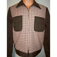 TARANTULA Weekender Jacket Brown Plaid