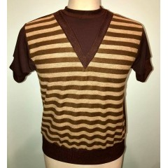 TARANTULA Sci-Fi Polo Top Brown