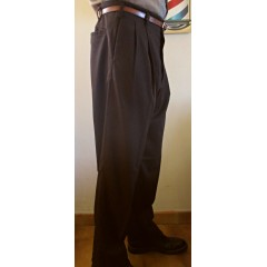 TARANTULA Holywood High Waisted Trousers Brown