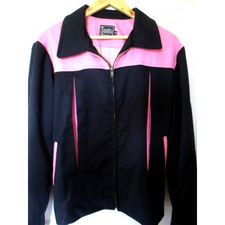 TARANTULA Elite Jacket Black / Pink Contrast