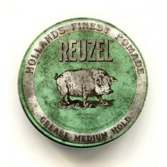 "GOMINA REUZEL Medium hold ""green Reuzel"""