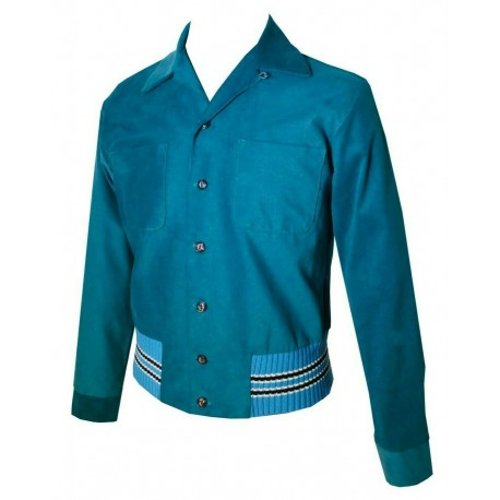 SWANKYS KING Gaucho Jacket Blue