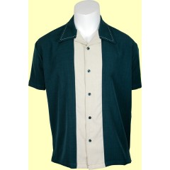 CHEMISE STEADY Big Daddy Green & Cream