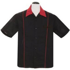 CHEMISE STEADY SHUCKSTER Black/Red