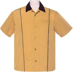 CHEMISE STEADY SHUCKSTER Mustard/Brown