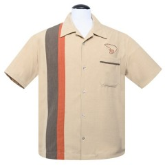 CHEMISE STEADY THE BOOMER / TAN