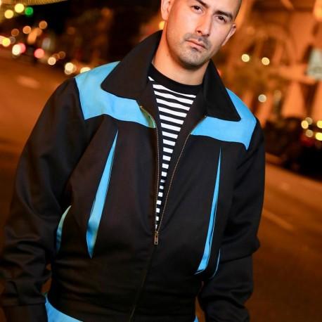 TARANTULA Elite Jacket Black / Turquoise Contrast