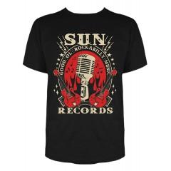 "TEE-SHIRT SUN ""Rockabilly music"" STEADY CLOTHING"