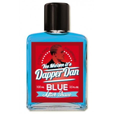 DAPPER DAN After Shave bleue