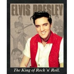 PLAQUE US TIN SIGN - ELVIS