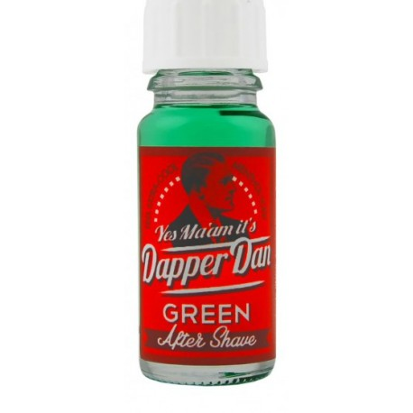 DAPPER DAN After Shave Green (Tester)