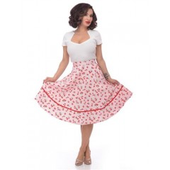 """FRUIT PRINT"" SKIRT ROCK STEADY by STEADY CLOTHING"