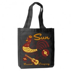 """ROOSTER DODDLE\"" TOTE BAG SUN RECORDS by STEADY CLOTHING"