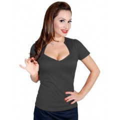 """SOPHIA"" TOP GREY STEADY CLOTHING"