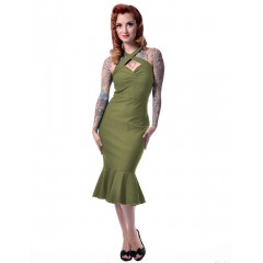 """CHERRY DOLLFACE"" DRESS ROCK STEADY by STEADY CLOTHING"