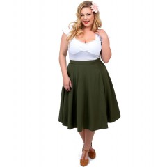 """HIGH WAISTED THRILLS"" SKIRT ROCK STEADY by STEADY CLOTHING"