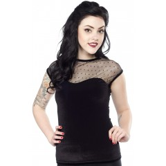 "TOP ""Velvet Miss Fancy"" ROCK STEADY de STEADY CLOTHING"