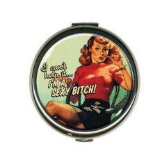 "MIROIR DE SAC ""SEXY BITCH"""